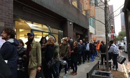 The line outside the ASPCA on Cat Friday (ASPCA)
