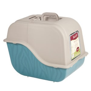 whisker city hooded cat pan