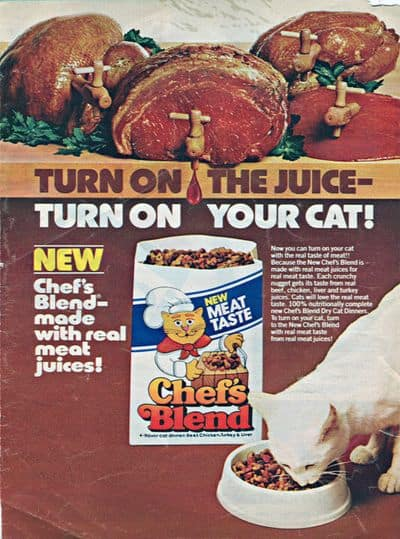 Food for Thought: 21 Fascinating Vintage Cat Food Ads - The